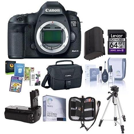 Canon EOS-5D Mark III cámara réflex digital Bundle. Estados Unidos ...