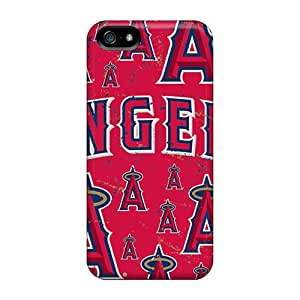 LisaSwinburnson Iphone 5/5s Shock Absorbent Cell-phone Hard Covers Unique Design Attractive Los Angeles Angels Image [dAp7067jTEo]