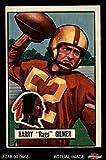 1951 Bowman # 72 Harry Gilmer Washington Redskins (Football Card) Dean's Cards 5 - EX Redskins