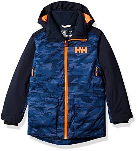 Helly Hansen Jr Skyhigh Jacket, Size 14, Navy (New Snowboarding Jackets)