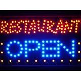LAMPE NEON ENSEIGNE LUMINEUSE LED led132-b Restaurant OPEN Bar Led Neon Sign WhiteBoard
