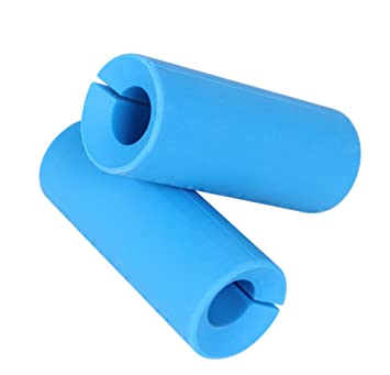 dasking Universal Silicona para ejercicios de mancuerna (2 mm) pesas Grips para bar Grips