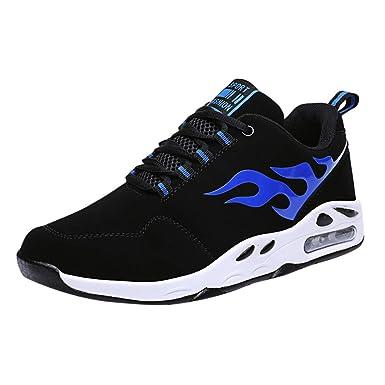 Darringls_Zapatos de hombre,Zapatillas de Senderismo Antideslizantes Seguridad La Zapatilla de Hombre Calzado de Correr En Montaña Aire Libre y Deporte ...