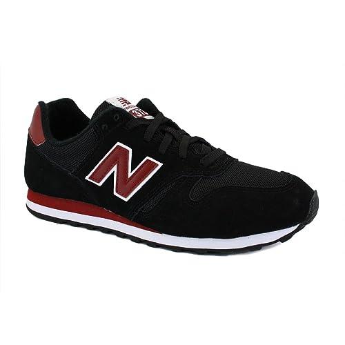 new balance hombre negras 373