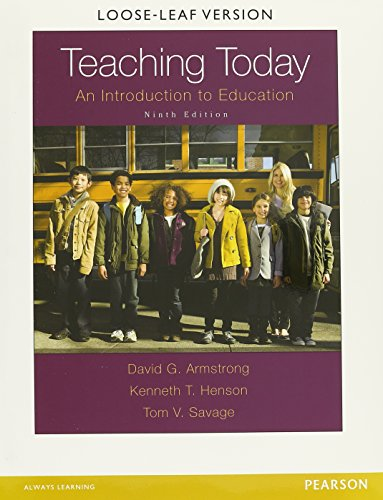Teaching Today: An Introduction to Education with Enhanced Pearson eText, Loose-Leaf Version with Video Analysis Tool -- Access Card Package (9th Edition)