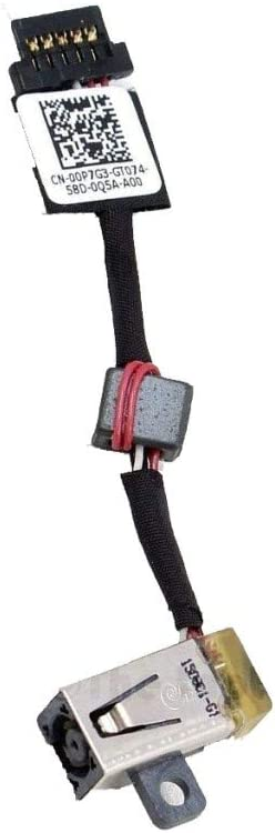 PHONSUN DC Power Jack Cable for Dell XPS 13 9343 9350 9360 CN: 00P7G3