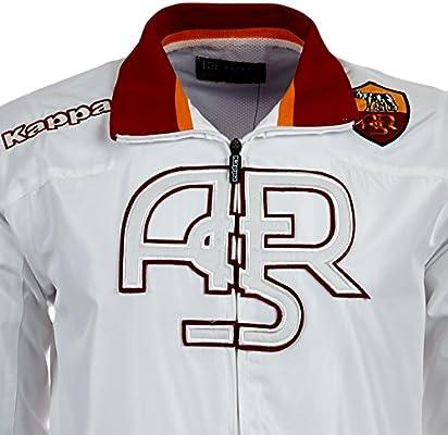 Kappa - Chándal, diseño del AS Roma blanco blanco Talla:extra ...