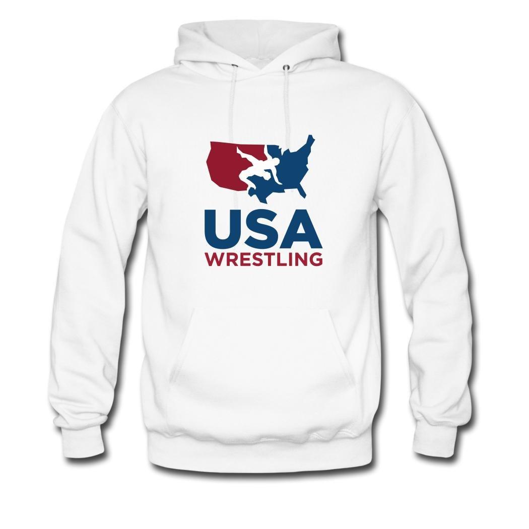 USA USA Wrestling Men's Hoodies by SOdasnie Small