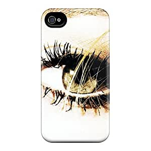 First-class Case Cover For Iphone 4/4s Dual Protection Cover Eye
