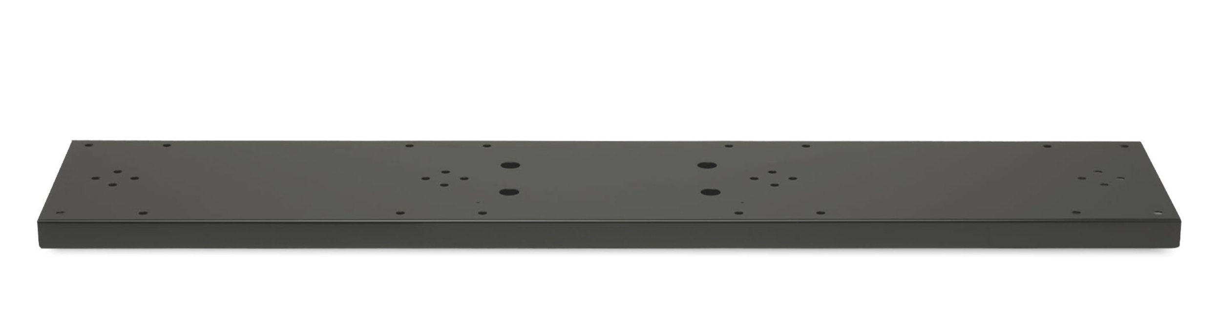 Architectural Mailboxes Quad Spreader Plate Black