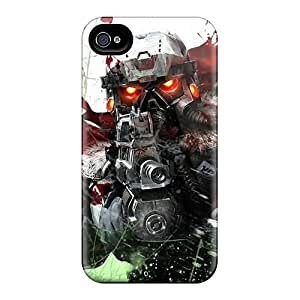 Fashionable Style Case Cover Skin For Iphone 4/4s- Killzone