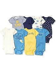 Gerber unisex-baby 8-pack Short Sleeve Onesies Bodysuits