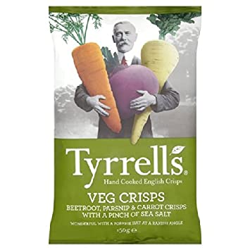 Buy Tyrrells Tyrrell s Vegetable Crisps 150g Online at Low Prices in India  - Amazon.in 20b370d07