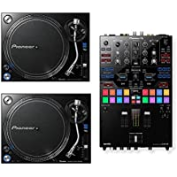 Pioneer DJMS9 Professional DJ Mixer. W/ 2 Pioneer PLX 1000..