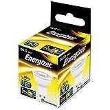 Energizer - Bombilla LED GU10, 5 W equivalentes a 50 W, 355 lúmenes, luz de color blanco cálido, GU10, 5.0|wattsW