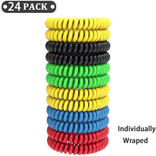 24 Pack Mosquito Re-pellent Bracelet