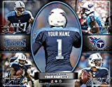 Photo File Action Collage Tennessee Titans Unframed Poster 14x11 Inches