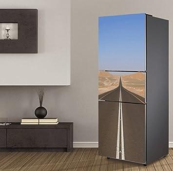 Gosunfly 3D Kühlschrank Tür Aufkleber, Schlafzimmer Wohnzimmer Tür ...