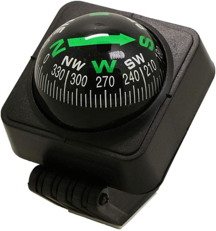 Car Compass Universal Delicate Decoration Collapsible Ball Digital Auto Electronic Vehicle Digital Navigation Easy to Mount