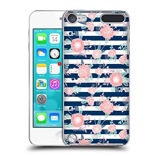 (Official Charlotte Winter Peony Stripes Floral Hard Back Case for iPod Touch 5th Gen / 6th Gen)