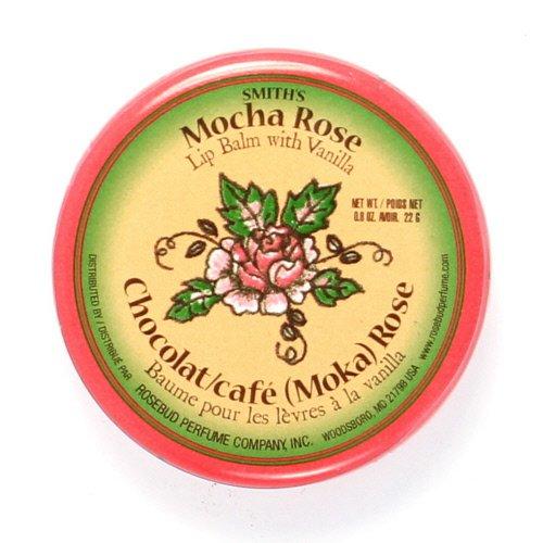 (3 Pack) Rosebud Mocha Rose Lip Balm Tin - Mocha Rose