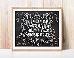 Child of God Quote Print by Ocean Drop Photography (8x10\