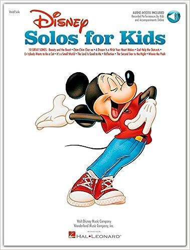 Disney Solos For Kids. Partituras, CD para Piano, Voz y Guitarra Símbolos de los Acordes: Amazon.es: unbekannt: Libros