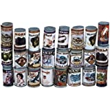 Dolls House Miniature Accessory 12 Old Fashioned Grocery Tin Cans
