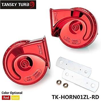2ST Cuerno Auto Air 2016 Nueva Ankunfts de caracol impermeable Auto Horn Silbato Horn 12 V alta eléctrica Bass de trompeta TK de cuerno 01zl: Amazon.es: ...