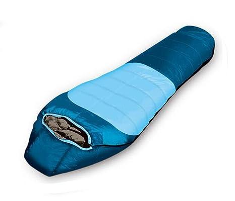 Z&HX sportsAbajo Sacos de Dormir al Aire Libre acampando Gruesos Sacos de Dormir Calientes Pueden ser