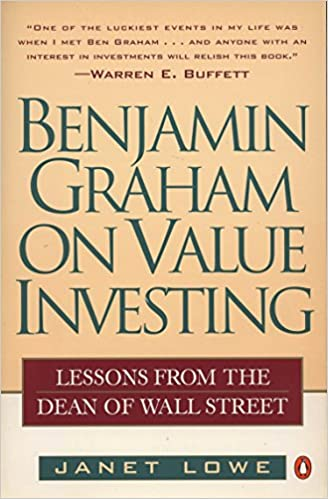 Benjamin Graham on Value Investing: Lessons from the Dean of Wall Street 9780140255348 ASIN: Investments & Securities at amazon
