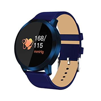 Reloj Inteligente Hombre Mujer, Modaworld Q8 Reloj Inteligente Reloj de Acero Inoxidable Dispositivo portátil Impermeable