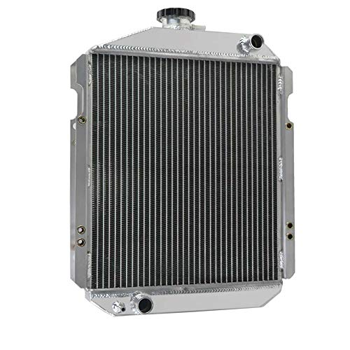 Deere Nos Tractor John - OzCoolingParts CH12622, CH19293, CH14024 Radiator, 2 Row Core Aluminum Radiator for John Deere Tractor 850 900HC 950, Yanmar Tractors YM2500,YM3000,YM3110