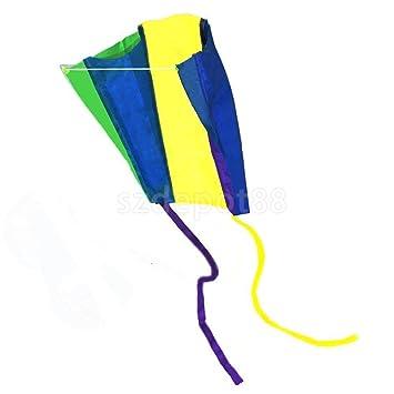 Amazon Com Easy Earth Flyer Mini Kite For Kids Children Outdoor
