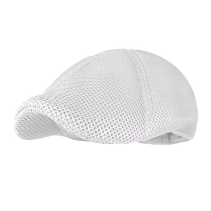 Carmen Dress Accessories Soft Mesh newsboy Gatsby Cap Mens IVY Hat Golf  Driving Summer Sun Flat Cabbie at Amazon Men s Clothing store  13f1bd3a484e
