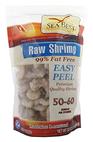- Sea Best 51/60 EZ Peel Shrimp, 2 Pound