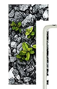 Samsung Galaxy S5 Nature Rock Plants PC Custom Samsung Galaxy S5 Case Cover White