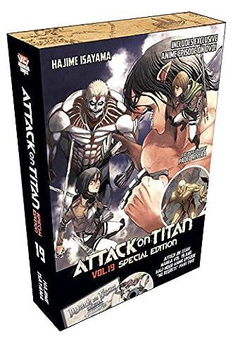 Attack on Titan 19 Special Edition w/DVD (Attack In Titan Dvd)