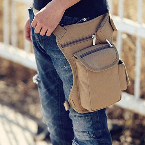 Outdoor Tactical Military Thigh Drop Leg Bag Utility Waist Belt Pouch Fanny Pack