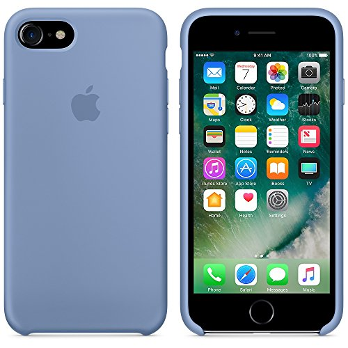 Apple Silicone Case for iPhone 7 - Azure by Apple (Image #4)