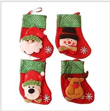 TKSTAR Frohe Weihnachten Weihnachtsschmuck Weihnachtsmann Socken ...