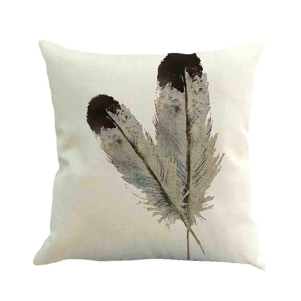 Xia&Han Pillow Covers Cushion Cover Decorative Pillows for Sleeping, Adjustable Loft & Neck Pain Relief Cafe Sofa Cushion Cover Home Decor (A, X)