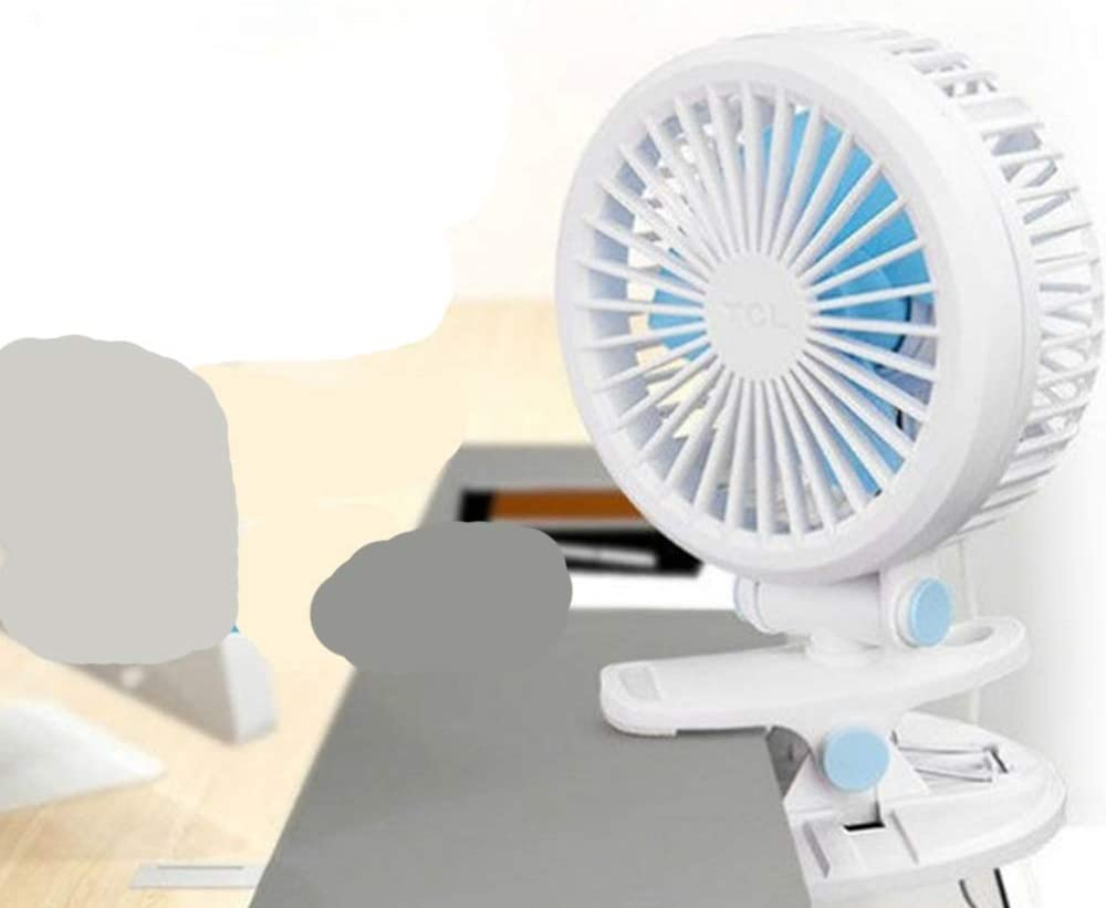 Mini Portable Cooling Fan USB Small Fan 2 Gear Desktop Cilp Fan Bedroom Office Mini Fan Bedside Dormitory Clip Fan