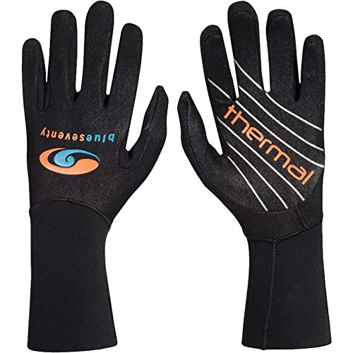 blueseventy Thermal Swim Gloves - for Triathlon Training and Cold Open Water Swimming - Large