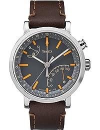 Metropolitan+ | Analog Activity Tracker Watch Leather Grey Dial TW2P92300