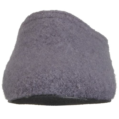 Haflinger Mistral 411012, Damen Hausschuhe Violett (Aubergine5)