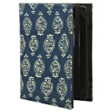 [JC] Cotton/Paper Kindle Case Cover, (fits Kindle Paperwhite, Kindle, and Kindle Touch) (Blue 11)