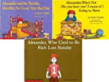 img - for Alexander and the Terrible, Horrible, No Good, Very Bad Day Book Pack (3 Books) Alexander, Who Used to Be Rich Last Sunday / Alexander, Who's Not (Do You Hear Me? I Mean It!) Going to Move /Alexander and the Terrible, Horrible, No Good, Very Bad Day book / textbook / text book