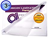 12 x 18 Laminating Pouches 3 Mil Menu Laminator Sleeves Qty 100