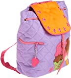 Stephen Joseph Little Girls'  Quilted Backpack, Ice Cream, One Size